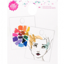 Jane Davenport Mixed Media 2 Mixing Palette Pad 50/Pkg - Waterproof Coating